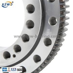 High quality Xuzhou Wanda Three row roller (13 series) External gear slewing ring bearing