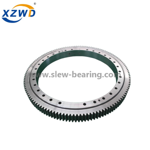 small diameter 4 point contact ball turntable bearing for robot