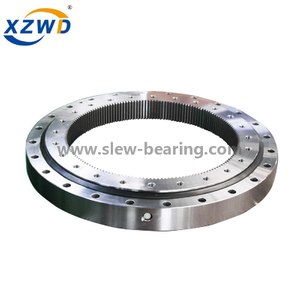 Light Ball Slewing Ring Bearing with Internal Gear for Mud Scraper